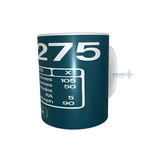 Kids mug 37275 number and data plate
