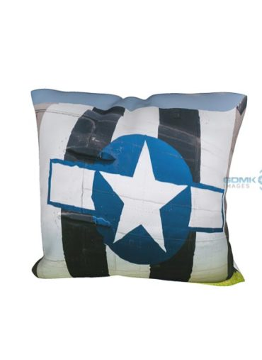 D Day Invasion stripes cushion