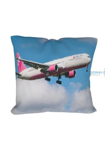 Delta Airlines Boeing 767 aeroplane cushion