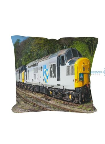 Double Headed Railfreight Class 37s cushion