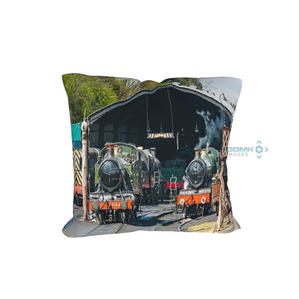 GWR Steam Locos on Shed cushion