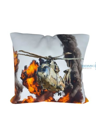 merlin fire cushion