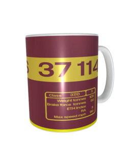 37114 EWS Replica Loco Side Panel Mug
