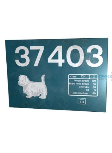 37403 LL Weathered 295 x 200 metal sign