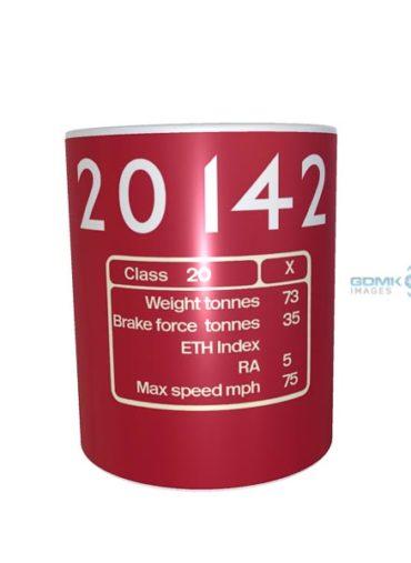 Ceramic Mug 20142 metropolitan railway number DP + depot