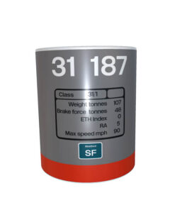 Ceramic Mug 31187 RS railfreight v1