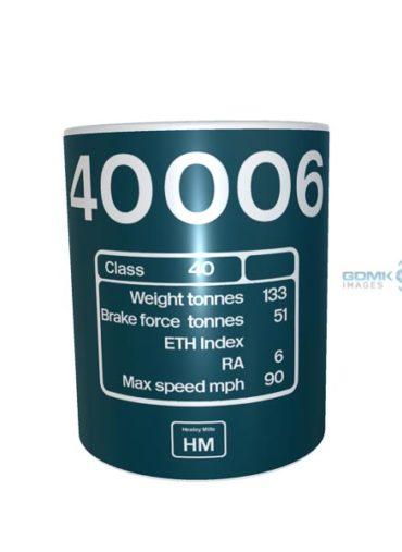 Ceramic Mug 40006 number DP + HM