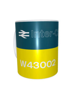 Ceramic Mug 43002 BR blue clear