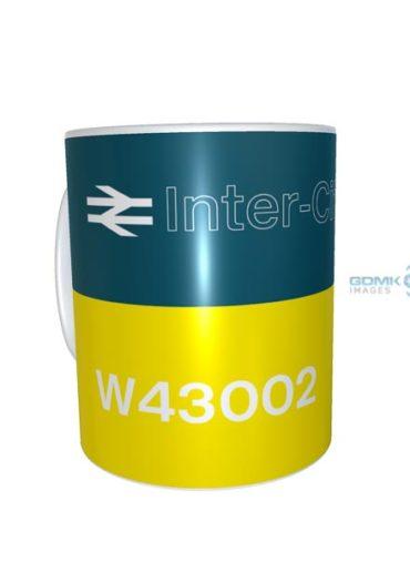 Ceramic Mug 43002 BR blue clear