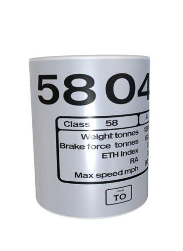 58043 RF Coal mug