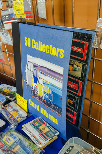 Class 50 Collectors Card Folder