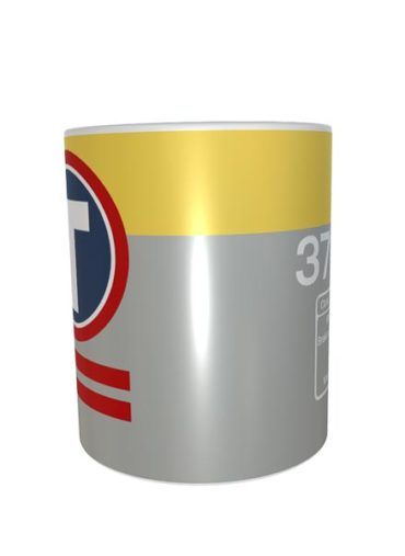 Class 37 37230 Dutch Transrail Data Panel Mug