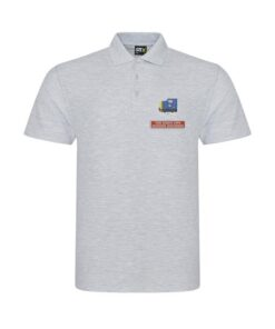 Class 55 BR Blue Loco Number and Name Heather Grey Polo
