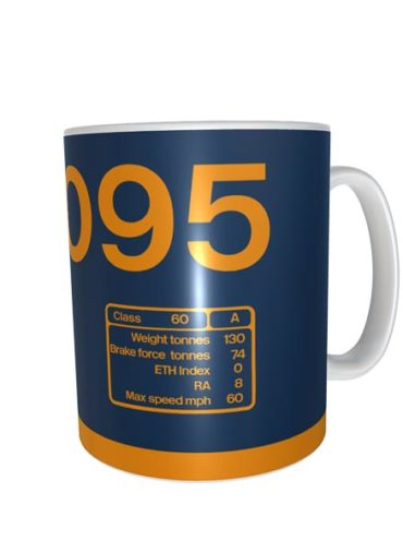 Class 60 60095 GBRF Data Panel Mug