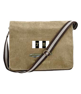 D-Day 75 Dakota Sand Messenger Bag