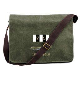 D-Day 75 RAF Dakota Green Messenger Bag