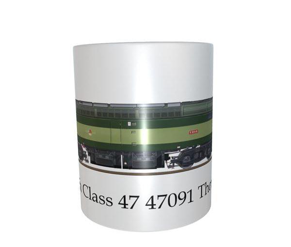 Class 47 47091 Thor Mug