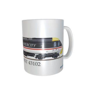 Class 43 HST 43102 Intercity Swallow Mug