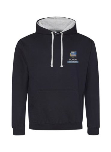 Class 50 50026 NSE Revised Navy Blue Hoodie
