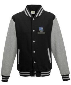 Class 52 BR Blue Black Varsity Jacket