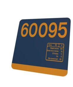 Class 60 60095 Data Panel coaster GBRF