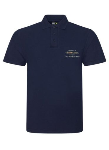 Dambuster Chastise 75 Navy Blue Polo