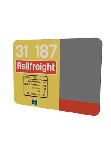 31187 Railfreight mouse mat