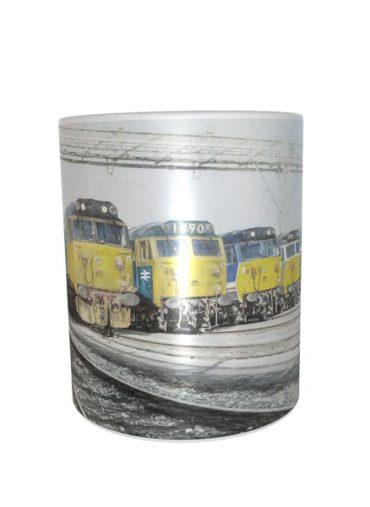 50 Lineup DA mug