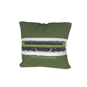 Class 47 47091 BR Green Cushion