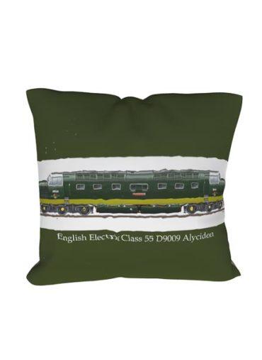 Class 55 D9009 Alycidon BR Green Cushion