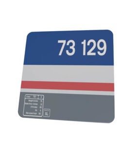 class 73 73129 Data Panel NSE Revised coaster
