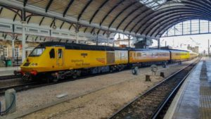 Network Rail Class 43 NMT at Newcastle