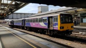 Northern Class 144 at Sheffield