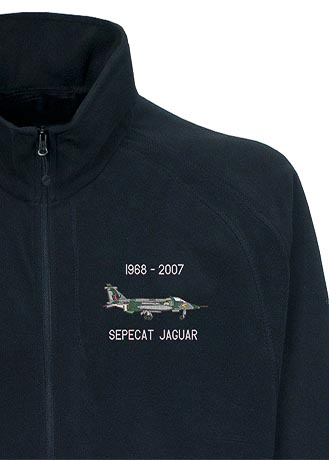 Classic Aircraft Jaguar Fleece Navy Snippet