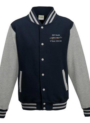 2 tours Halifax Oxford Blue Varsity Jacket