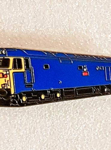 Class 50 Enamel Pin Badge 50035 BR Blue
