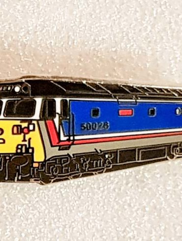 Class 50 Enamel Pin Badge 50026 NSE Original