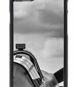 Black and White Hurricane Rear View Mobile Phone Case