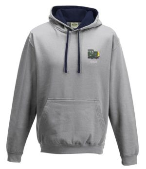 Class 40 D339 Split Box BR Green Heather Grey Hoodie
