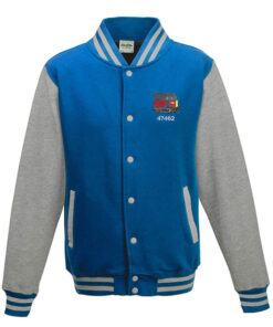 Class 47 47462 RES Sapphire Blue Varsity Jacket
