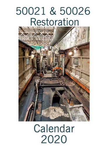 Class 50 50021 and 50026 Restoration 2020 Calendar