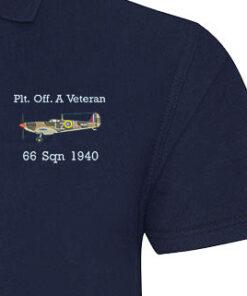 Spitfire A Veteran Navy Blue Polo sample