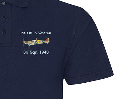 Spitfire A Veteran Navy Blue Polo sample