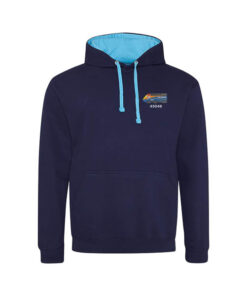 Class 43 HST 43048 EMT  Navy Blue And Hawaiian Blue hoodie