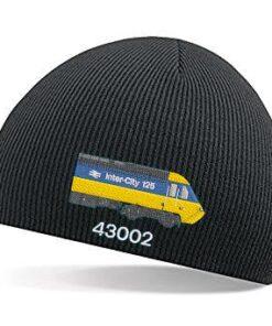 Class 43 HST BR Blue 43002 Beanie Hat