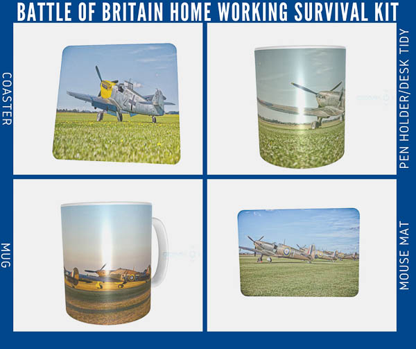 World War 2 Aircraft Pictures Added to Home Working Bundles - GDMK Images