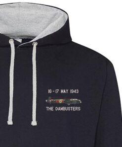 Dambusters Navy Blue Hoodie snippet