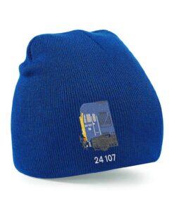 Class 24 BR Blue Beanie Hat