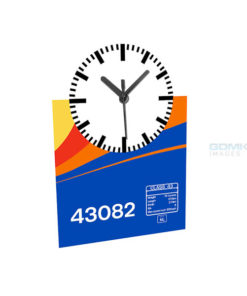 43082 EMT Data Panel Clock Mockup