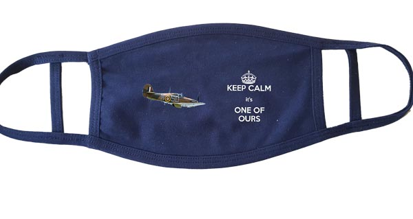 Dont Panic - Keep Calm and Get A Face Mask - GDMK Images